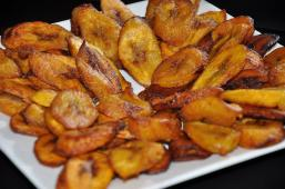 Grenadian style fry plantain