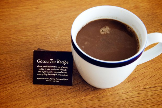 Grenadian Hot Chocolate (Cocoa Tea)
